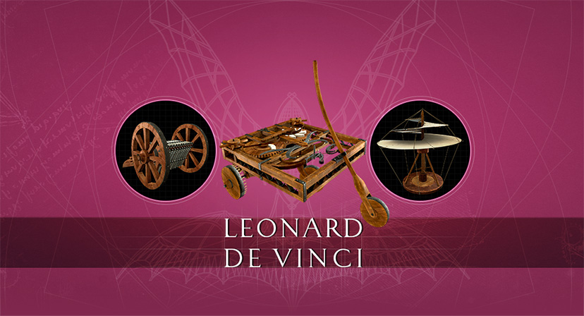 Application Leonard de Vinci